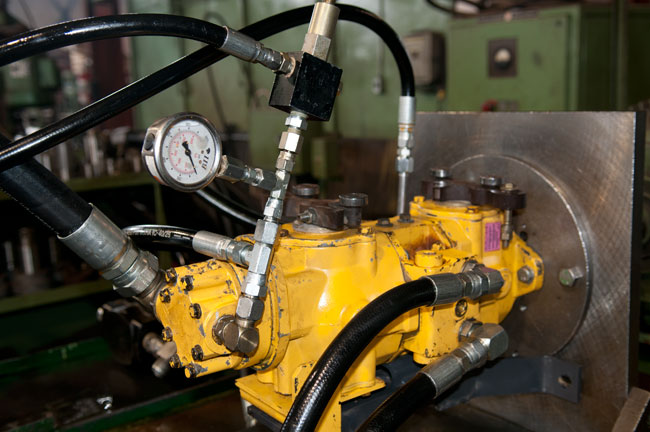 Action hydraulics the hydraulic specialists solve Hydraulic motor testing